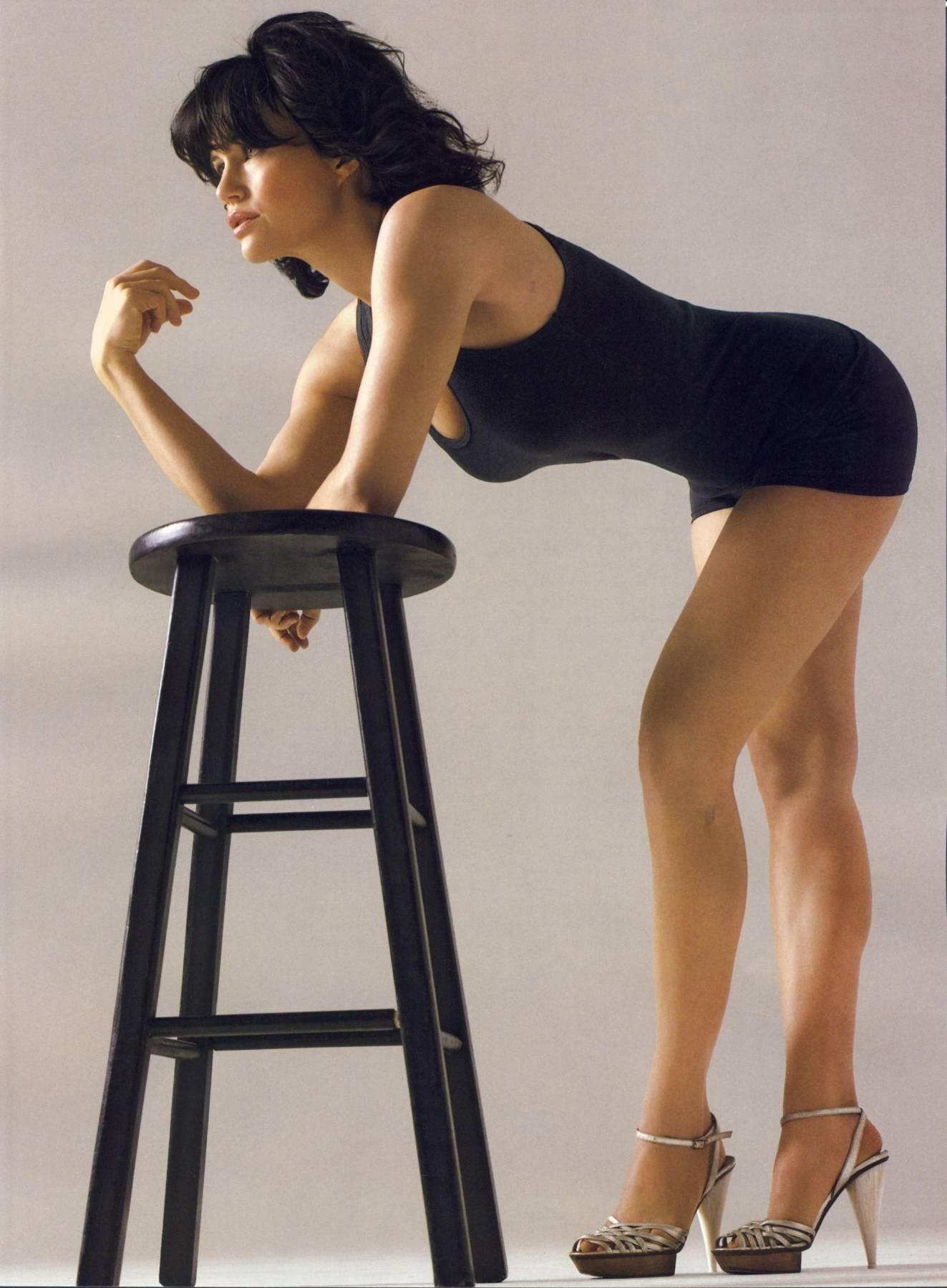 Carla Gugino en maillot de bain