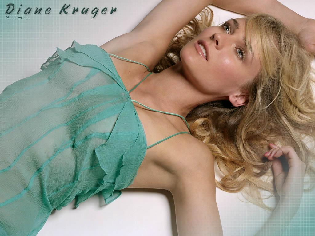 Diane Krüger en robe transparente