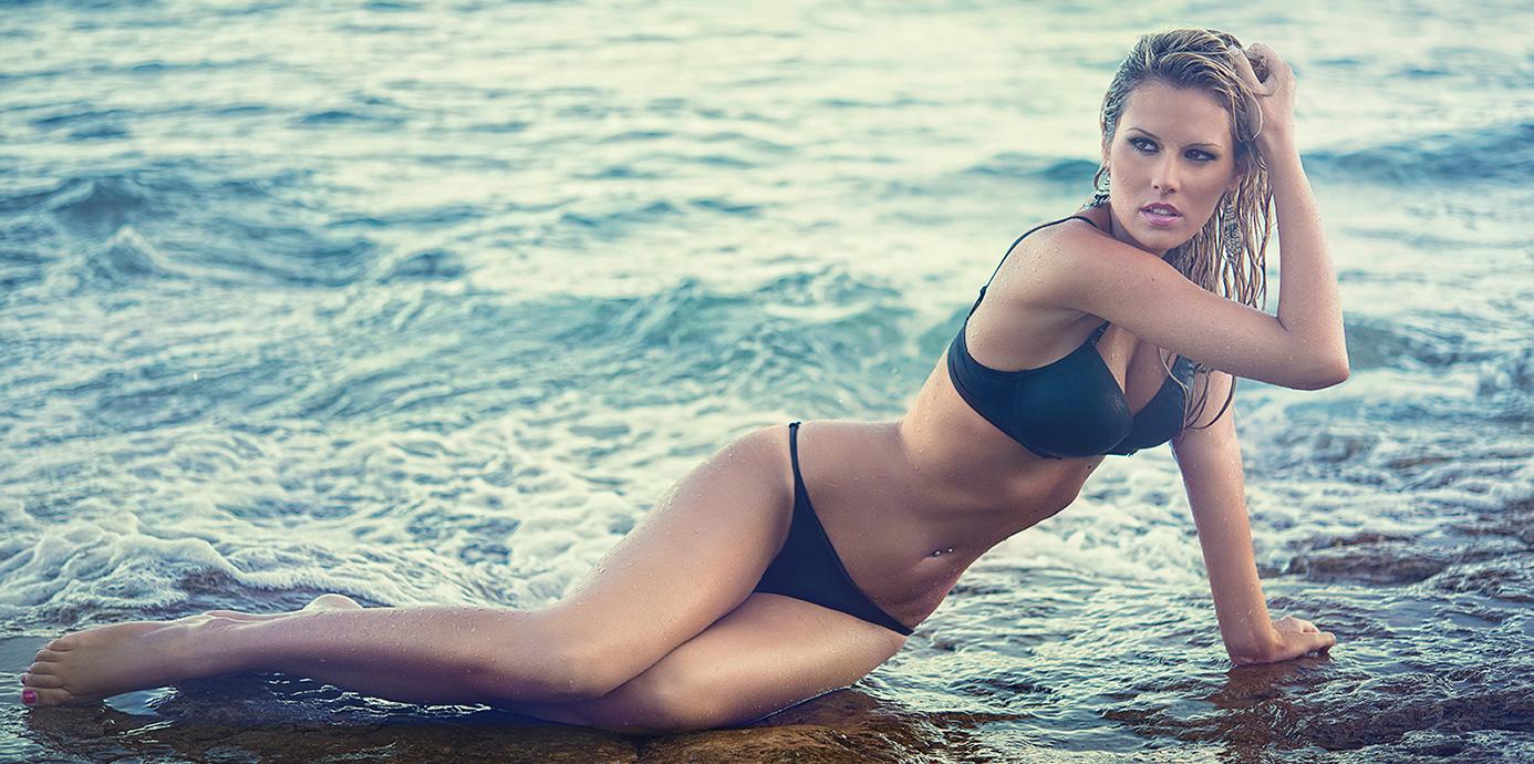 Marine Boudou en bikini