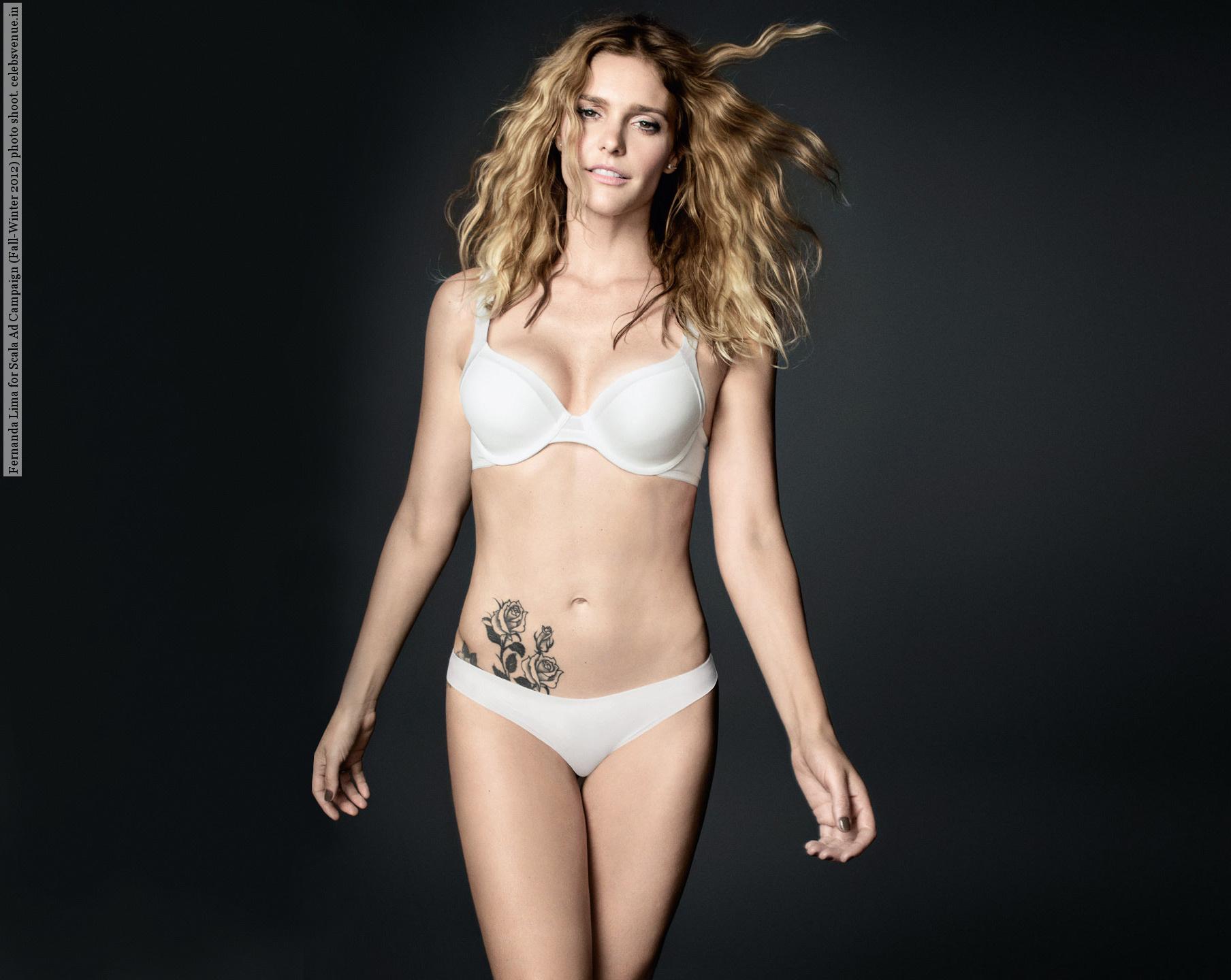 Fernanda Lima en lingerie