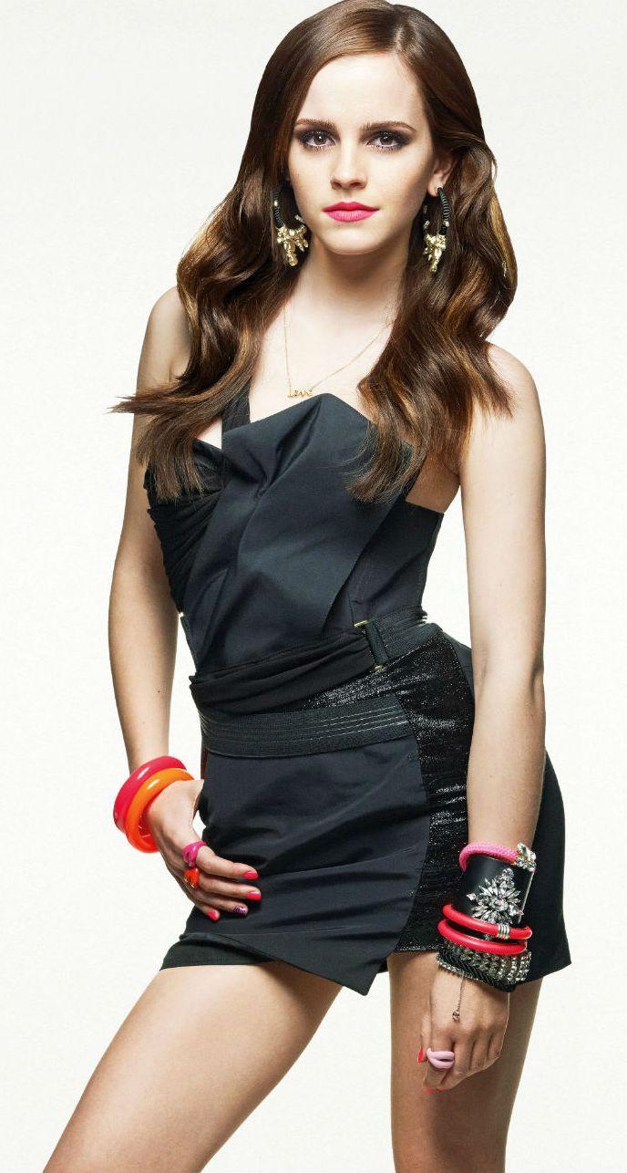 Emma Watson en mini-robe