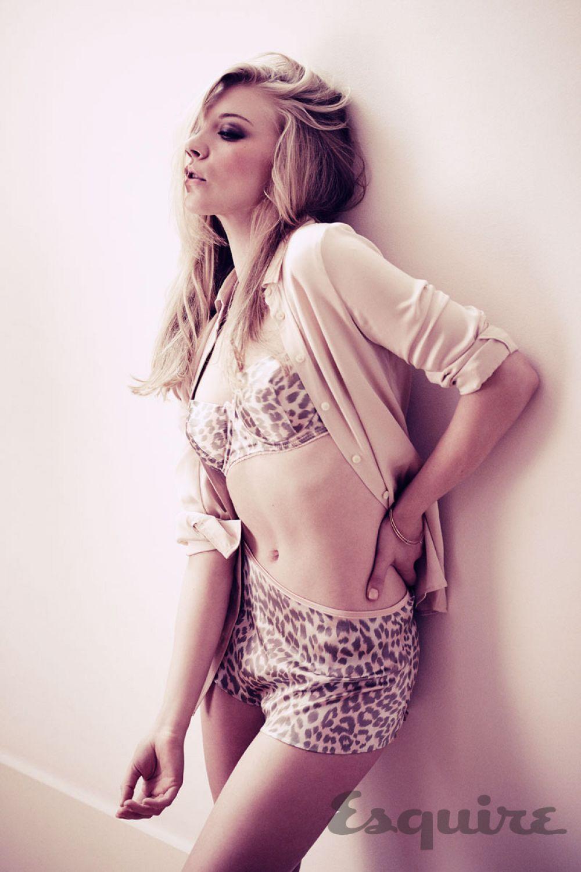 Natalie Dormer en lingerie