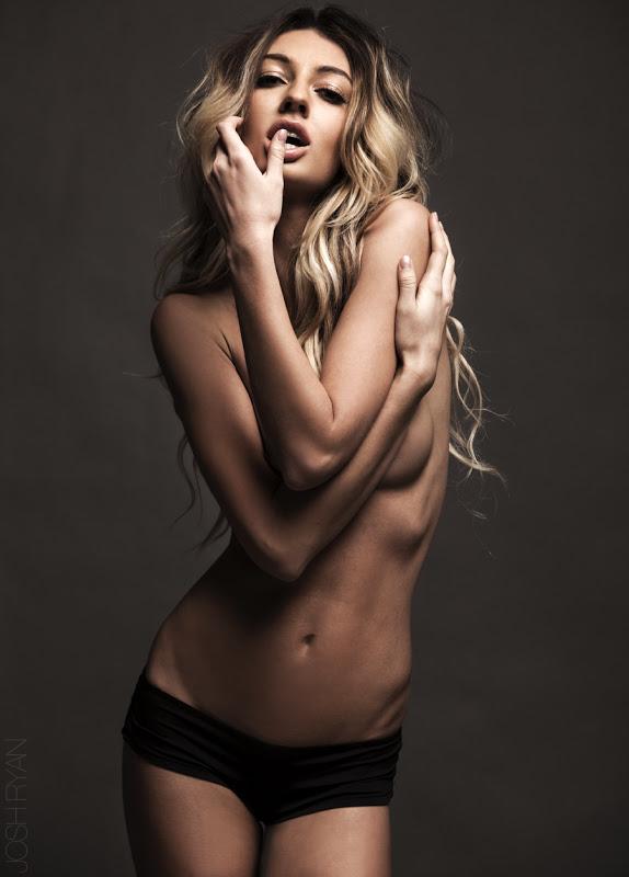 Jordan Daniele topless