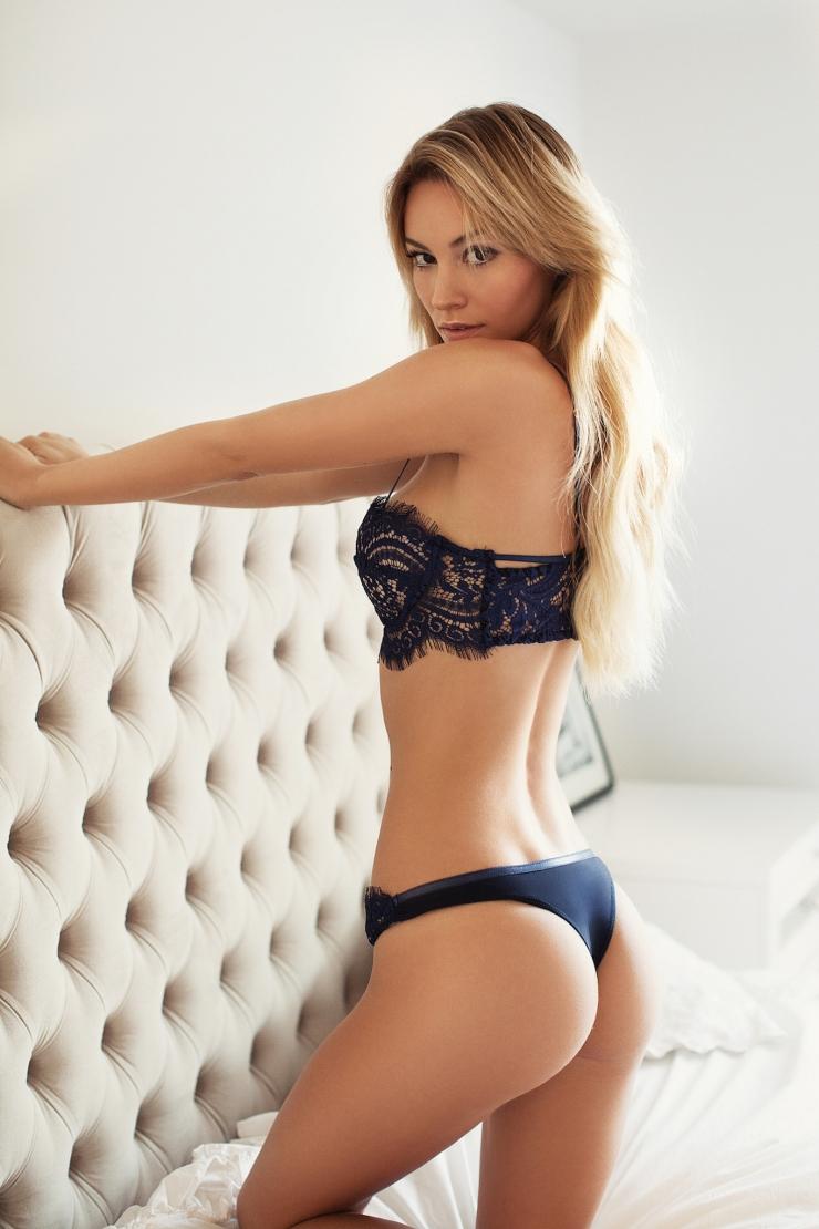 Bryana Holly en lingerie