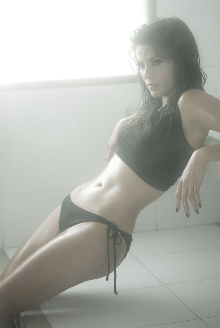 Margarita Muñoz en bikini