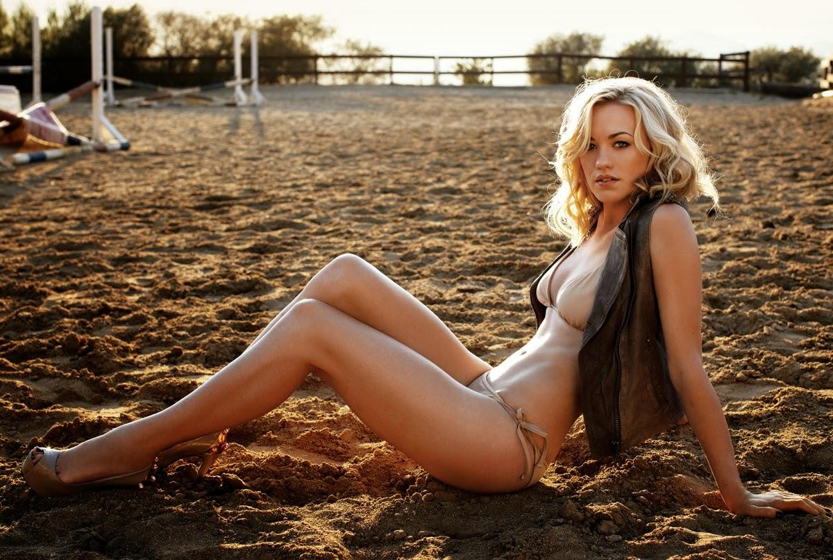 Yvonne Strahovski en bikini