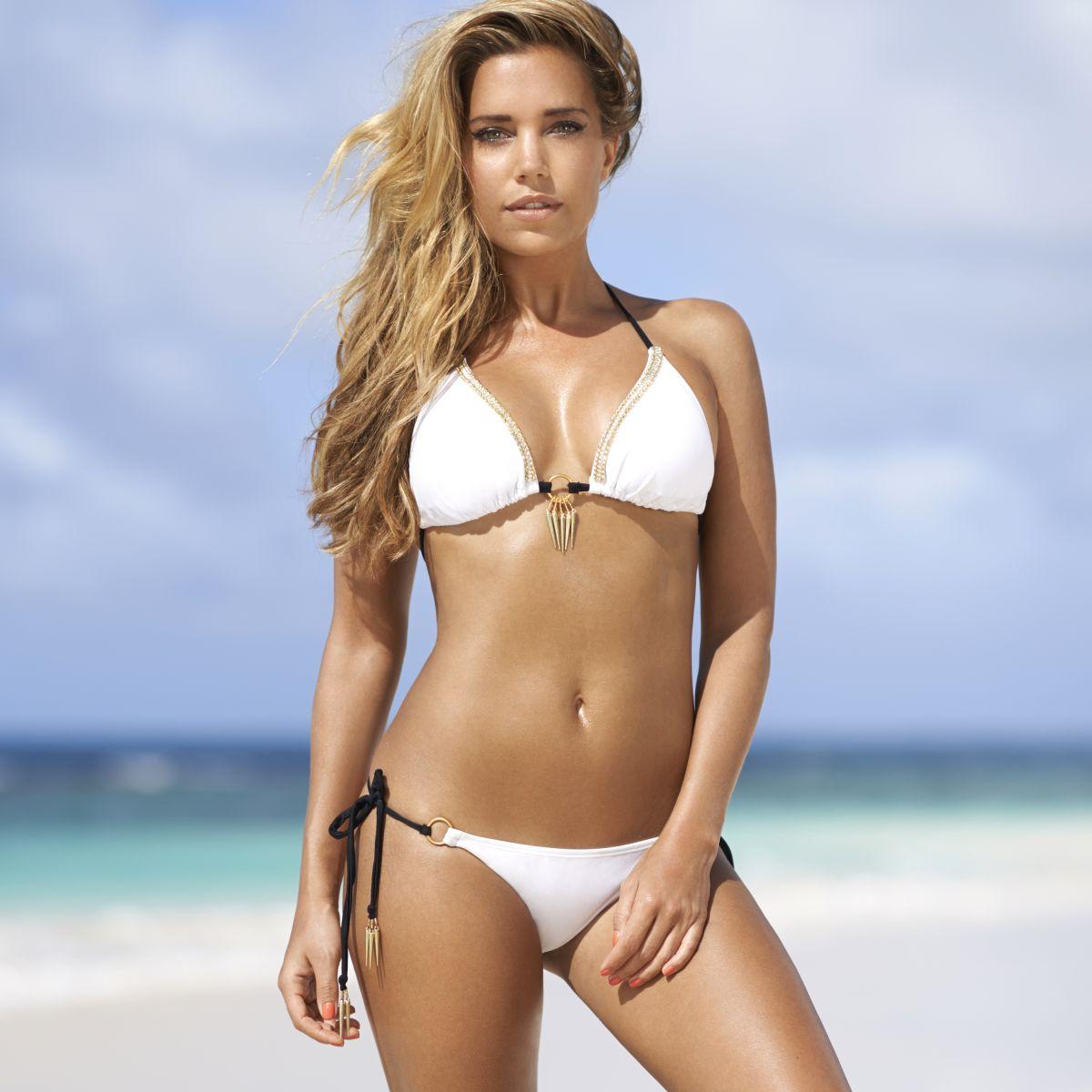 Sylvie Meis-Van der Vaart en bikini