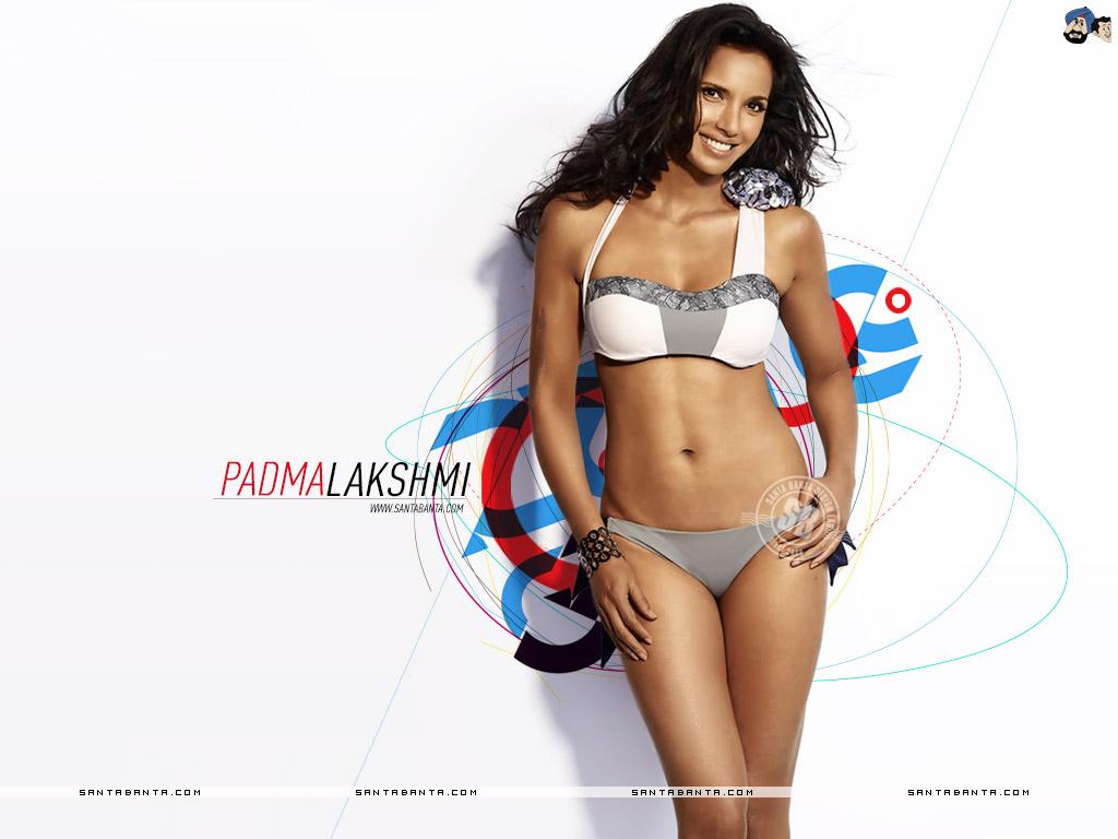 Padma Lakshmi en bikini