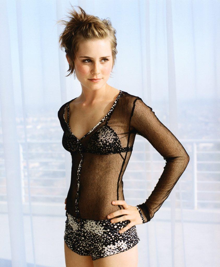 Alison Lohman en lingerie