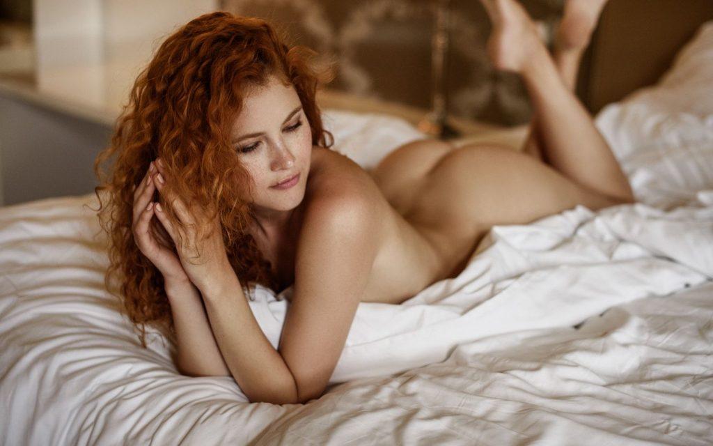 Heidi Romanova nue