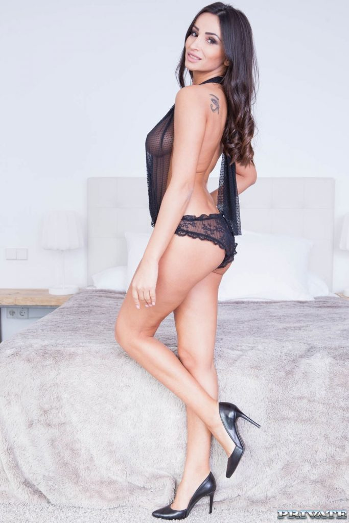 Alyssia Kent en lingerie
