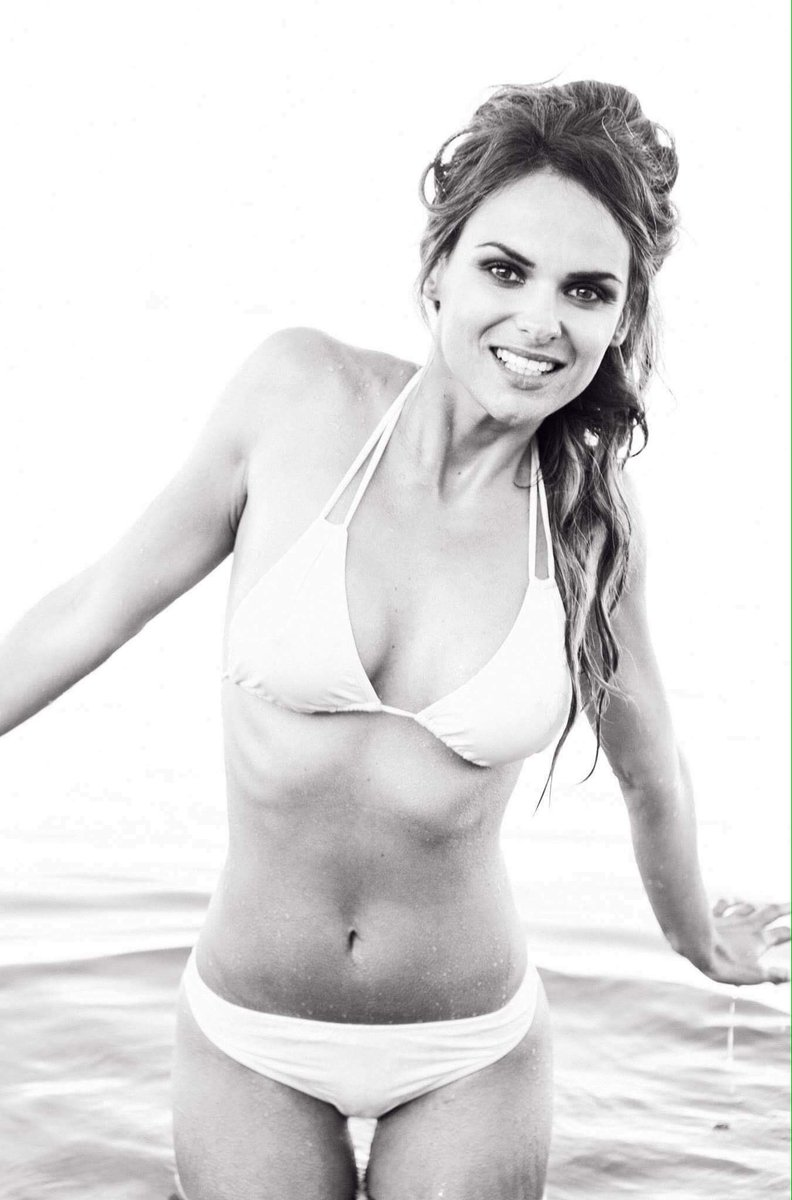 Géraldine Lapalus en bikini