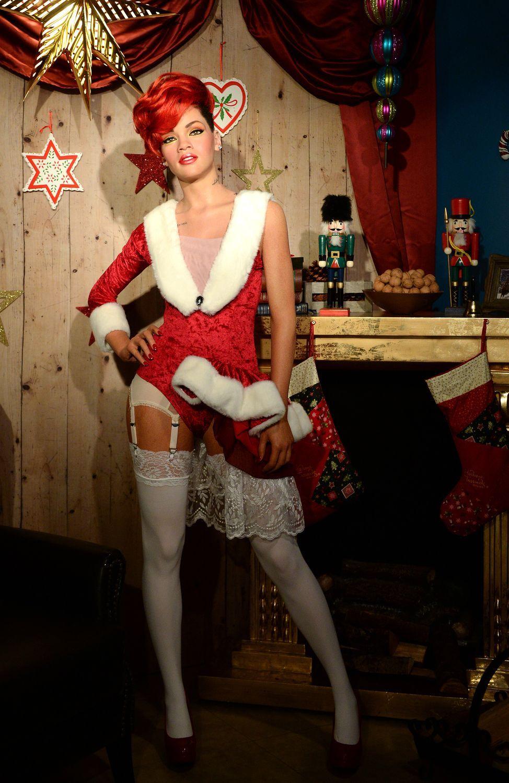 Rihanna en mère Noël