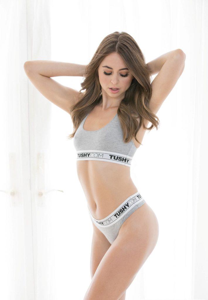 Riley Reid en lingerie