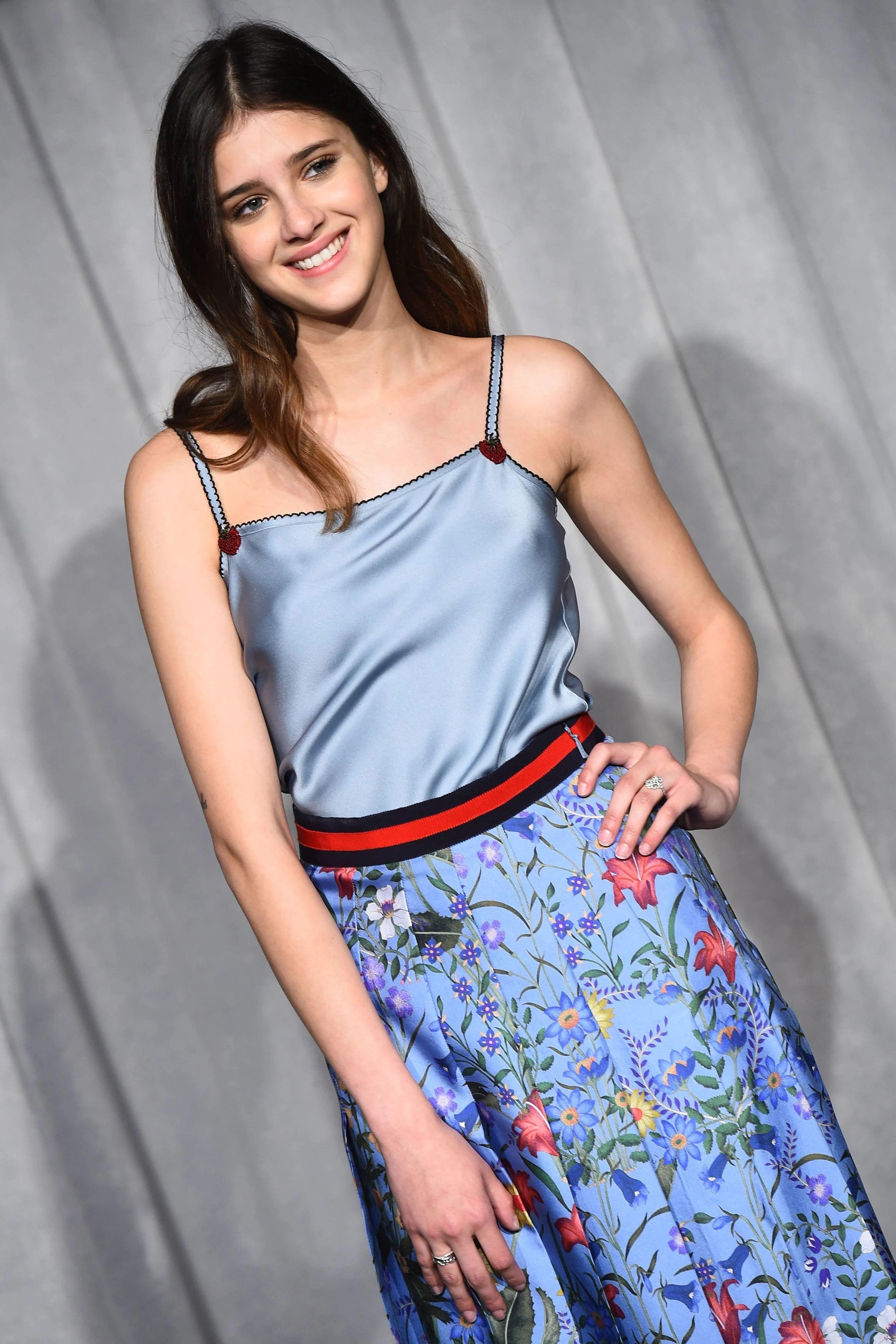 Benedetta Porcaroli en robe