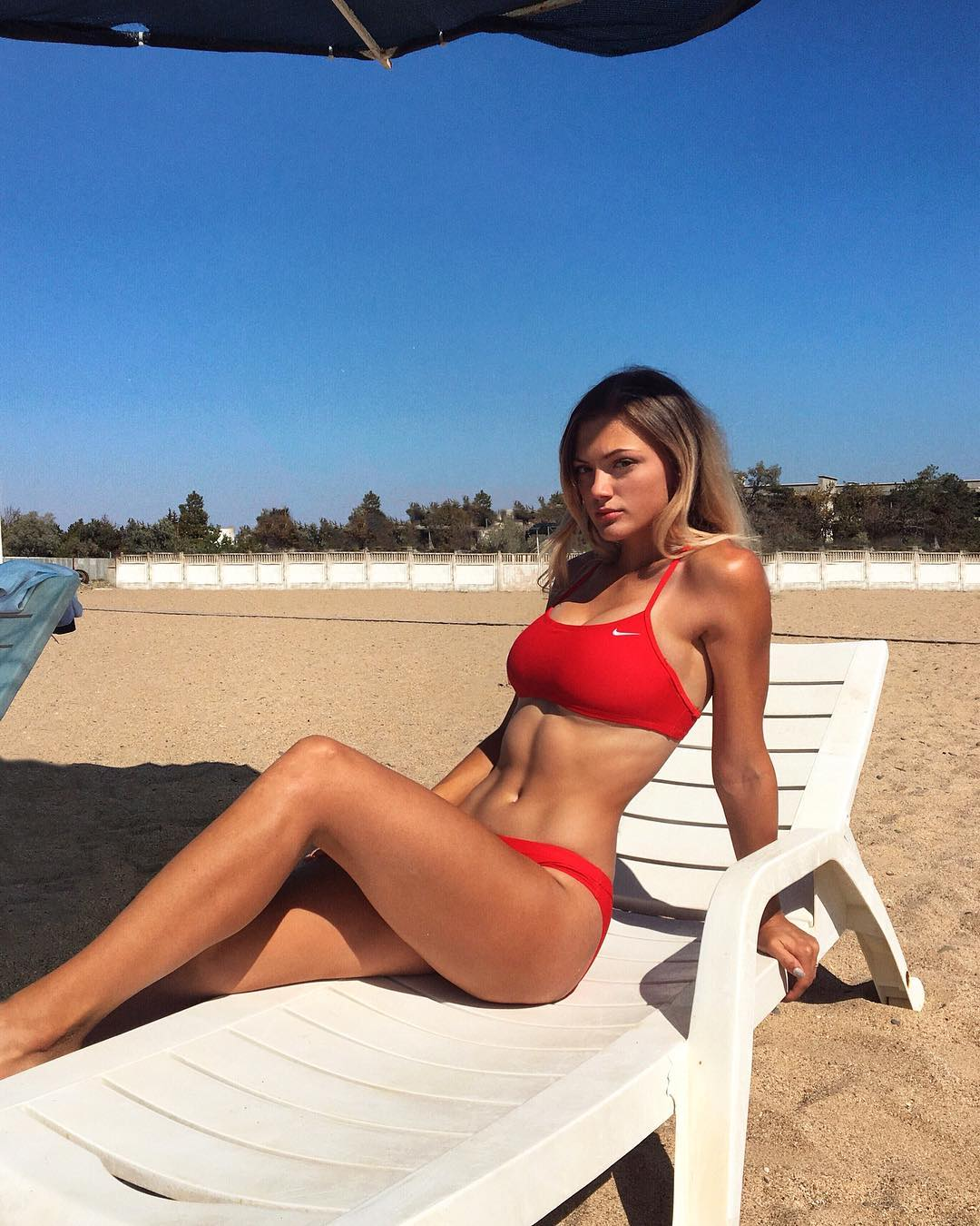 Viktoriya Gorlova en bikini