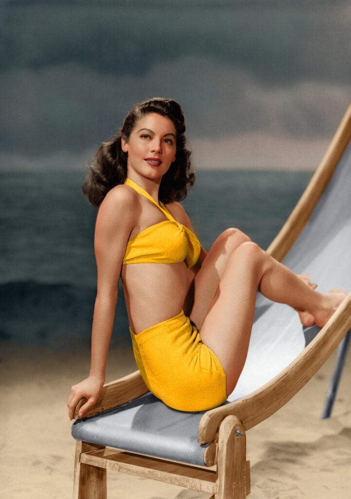 Ava Gardner en bikini