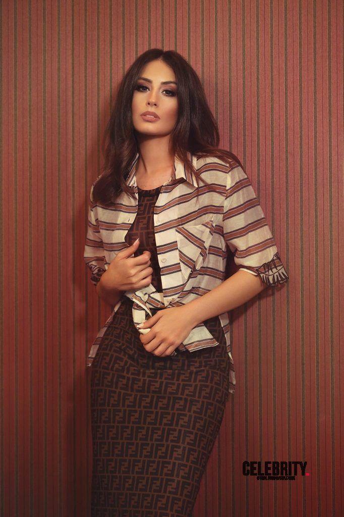 Hiba Tawaji en robe moulante