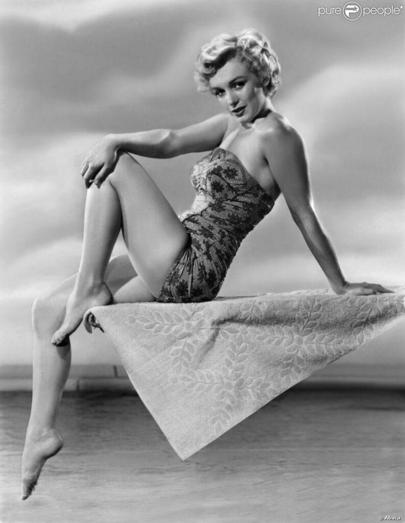 Marilyn Monroe en maillot de bain