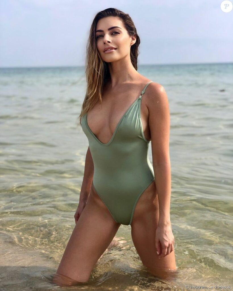 Candice Pascal en maillot de bain