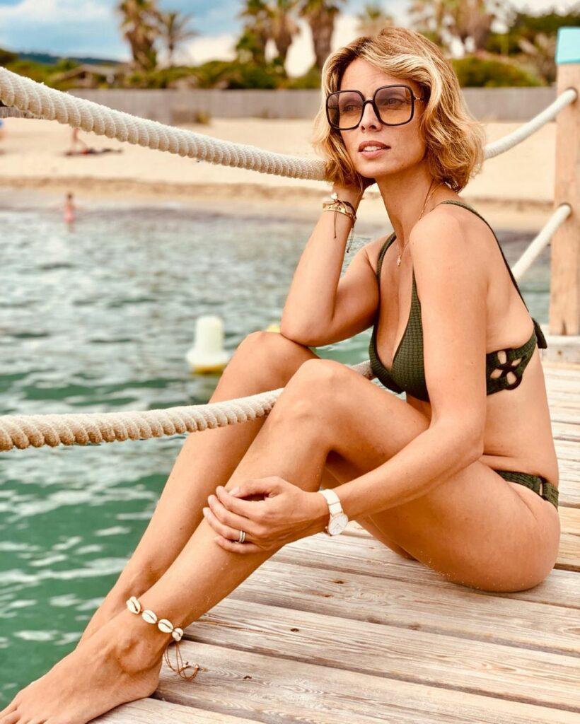 Sylvie Tellier en bikini