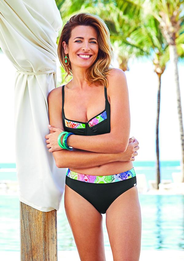 Léa Moratille en bikini