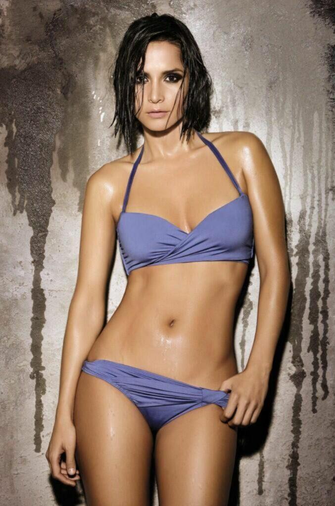 Ana Lucía Domínguez en bikini