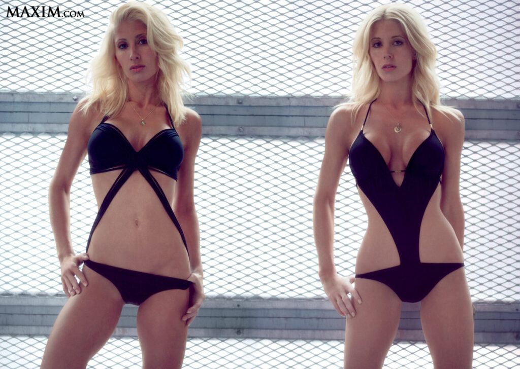 Angela et Amber Cope en bikini