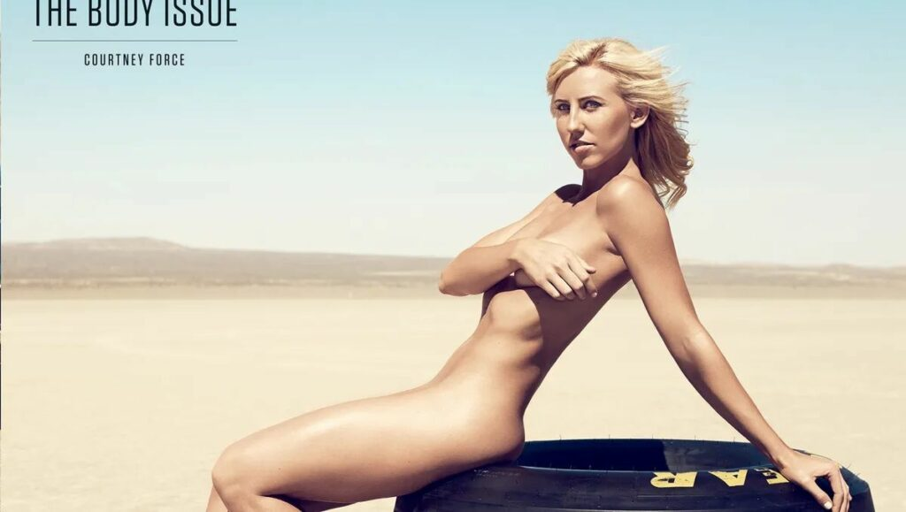 Courtney Force nue